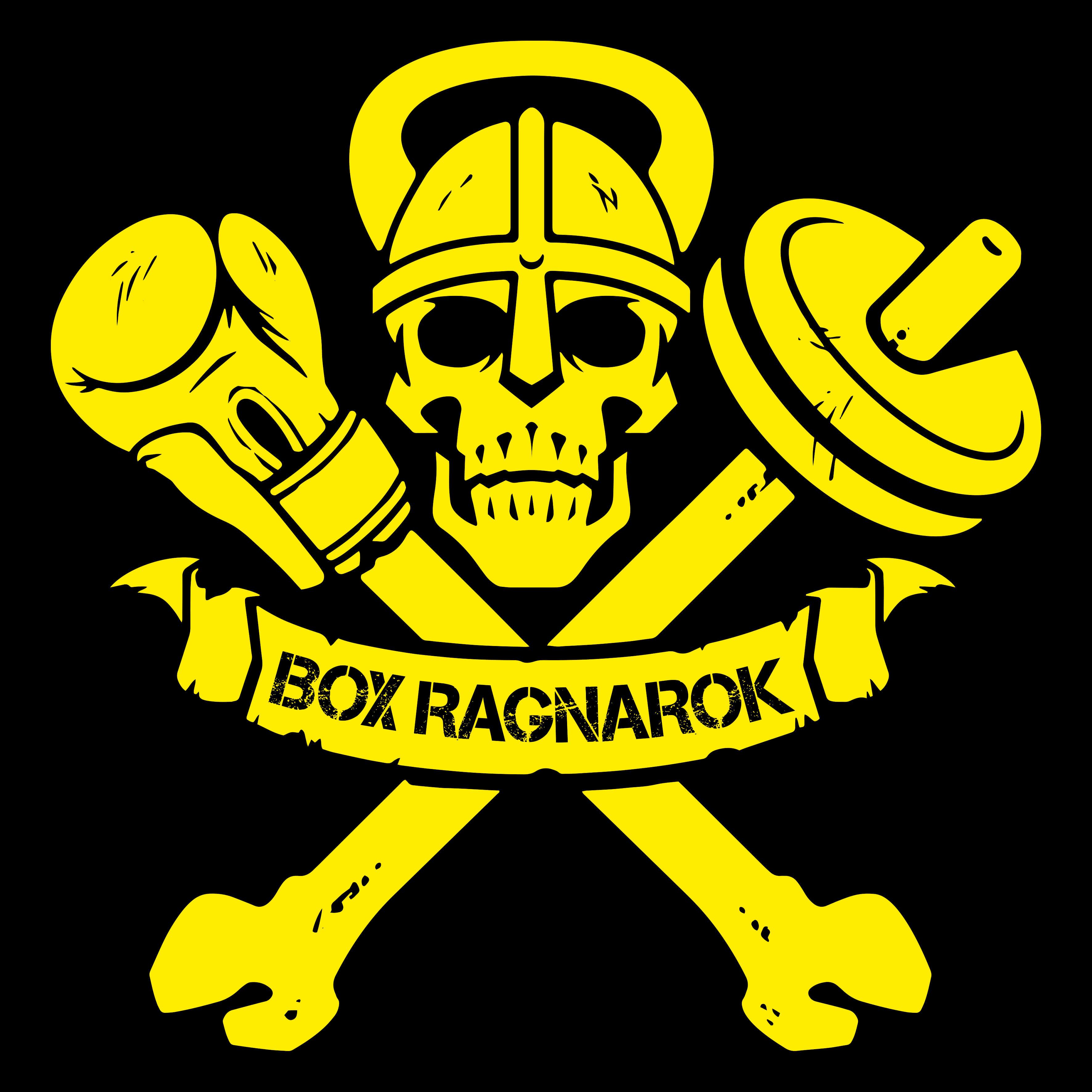 Logo Box Ragnarok Ninja Warrior