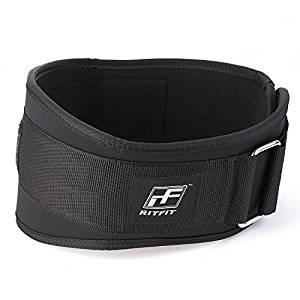 Cinturón lumbar para levantamiento de pesas
