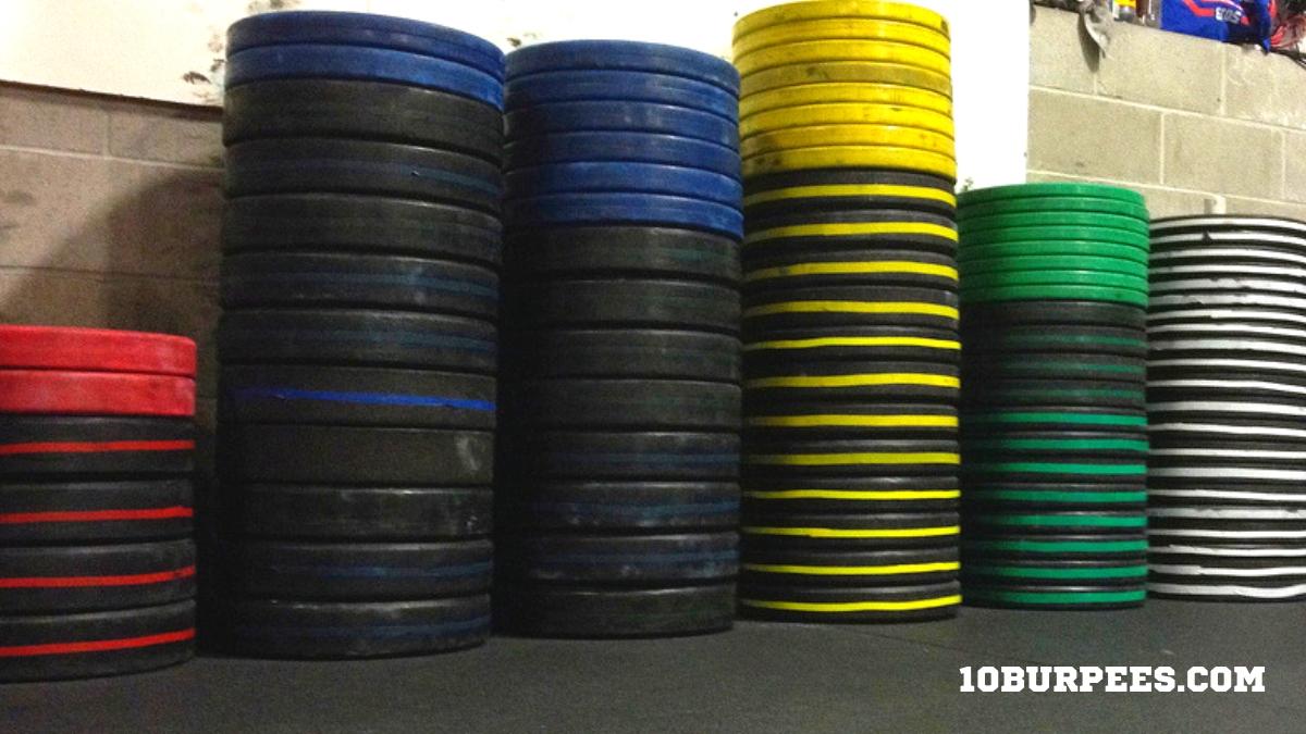 Comprar discos olímpicos