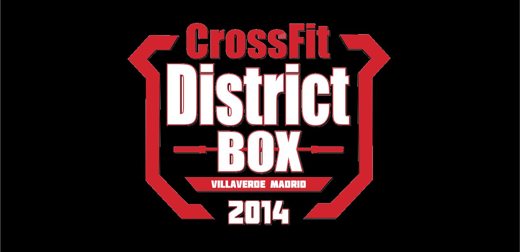 Logo CrossFit District Box