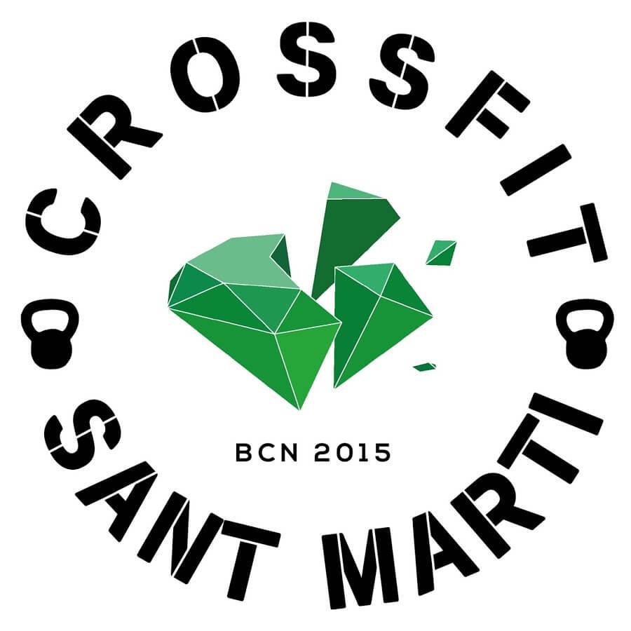 Logo CrossFit Sant Martí