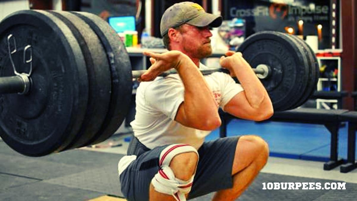 Sentadilla frontal o Front squat